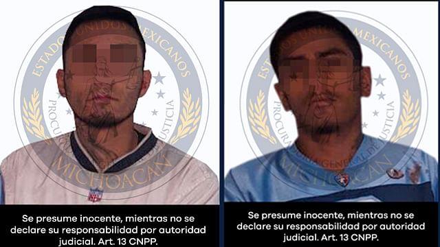 Presenta PGJE ante juez a dos involucrados en homicidio en Maravatío