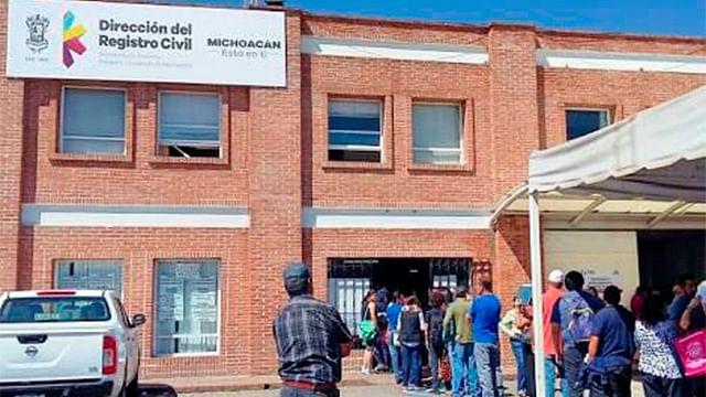 Registro Civil laborará durante periodo vacacional: Segob estatal