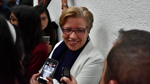 """""""No queremos ni vamos a enfrentarnos con gobernador de Michoacán: diputada de Morena"""