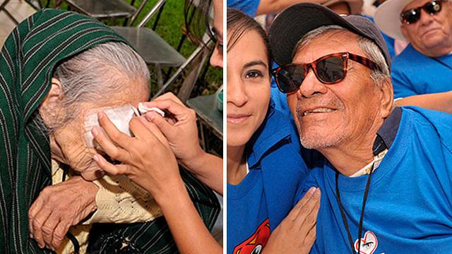 Cinépolis auspició cirugías que habrían dejado ciegos a más de 50 indígenas
