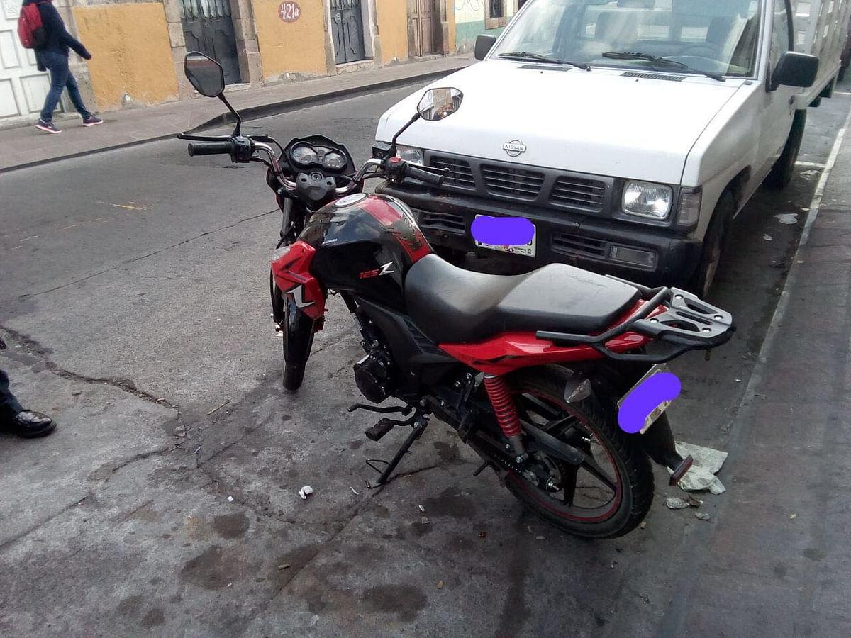 Policía de Morelia recupera dos motos robadas y detiene a presunto ladrón
