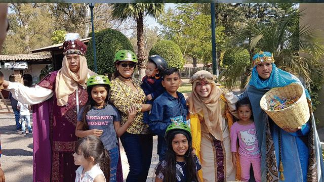 Zoológico de Morelia recibe a los Reyes Magos