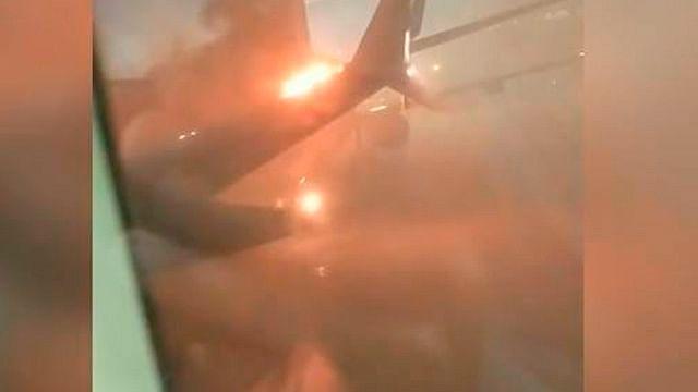 Avión procedente de Cancún se accidenta en aeropuerto de Toronto, Canadá