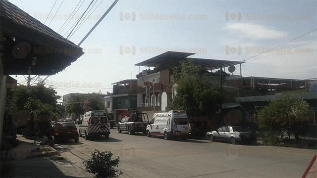 Se registra homicidio en hotel de Apatzingán