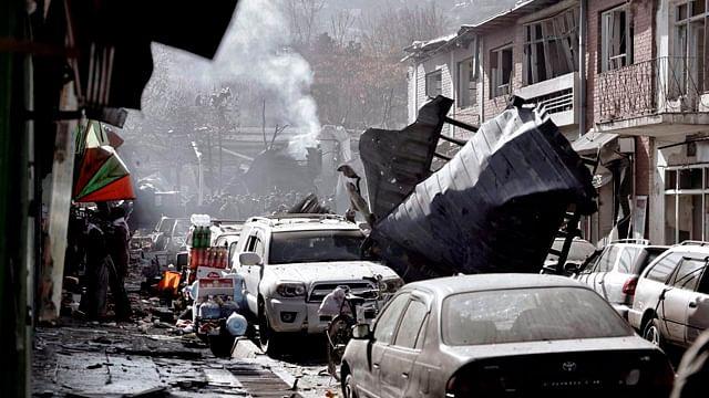 Ataque en Kabul deja 95 muertos y 158 heridos