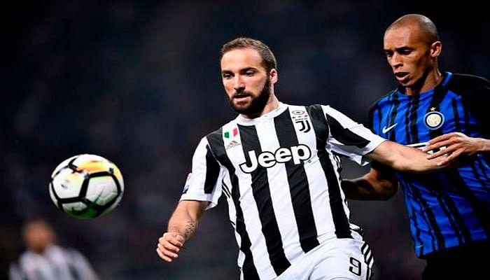 Juventus remontó sobre la hora al Inter para seguir líder en Italia