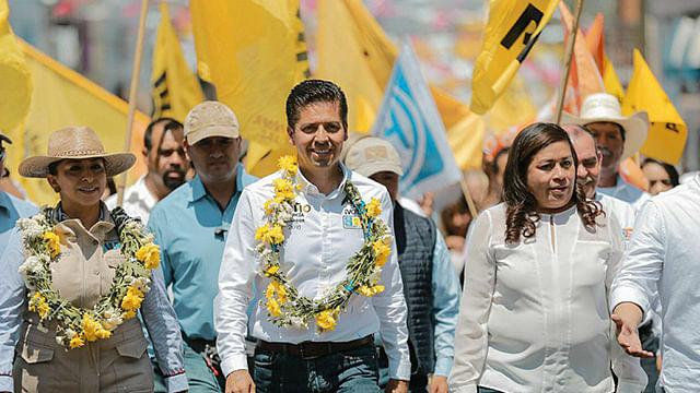 Antonio García Conejo confía que México al Frente cuenta con respaldo del pueblo