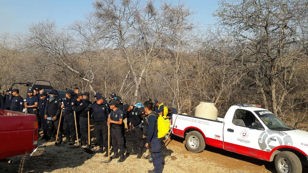Incendios en cerros de Uruapan afectaron 170 hectáreas