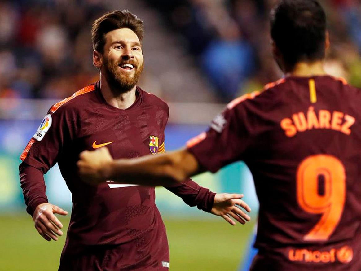 Con hat-trick de Messi, Barcelona se corona Campeón de La Liga