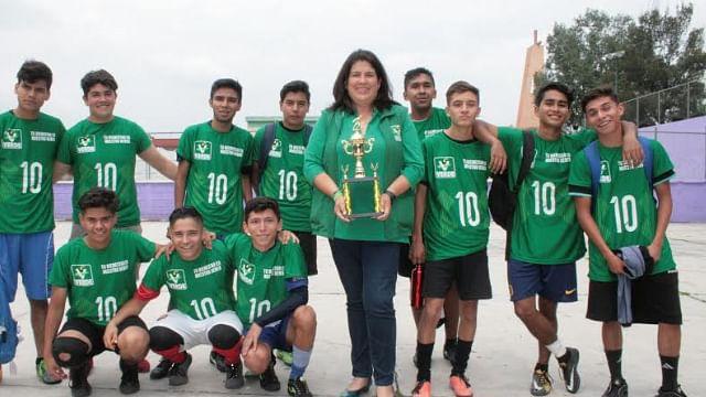 Rocío Guzmán también promueve el deporte