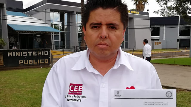 Presentó Morena denuncia ante la PGJE por difamación y uso de documentos apócrifos