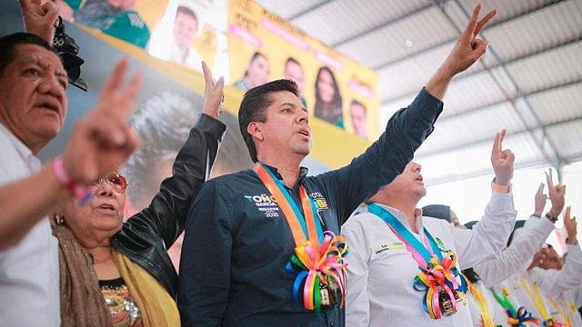 No van a callar la democracia, en Michoacán somos más los buenos:  Toño García