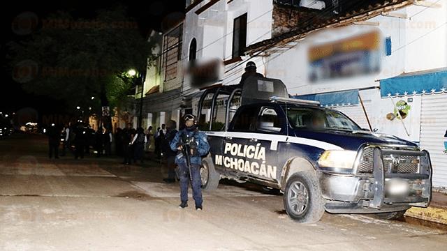 Detienen a ocho presuntos implicados en hechos violentos de Nocupétaro