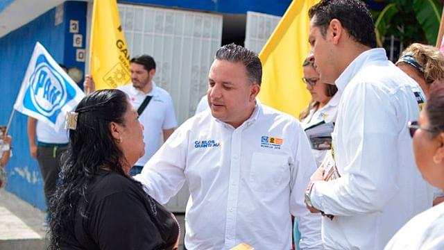 """Pondremos un """"hasta aquí"""" al problema de inseguridad: Carlos Quintana"""