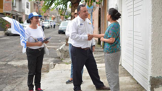 Juntos lograremos que Morelia salga del abandono en el que se encuentra