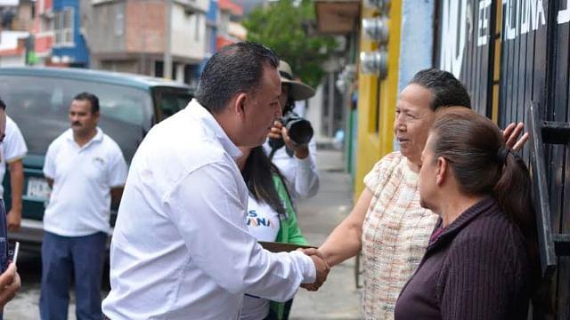 Carlos Quintana compromete modernizar redes de agua potable y drenaje en Morelia