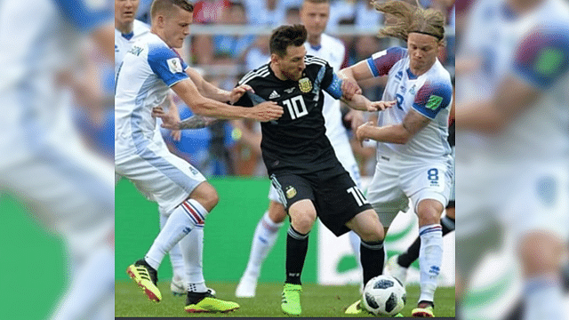 Con penal fallado de Messi, Argentina empata 1-1 con Islandia