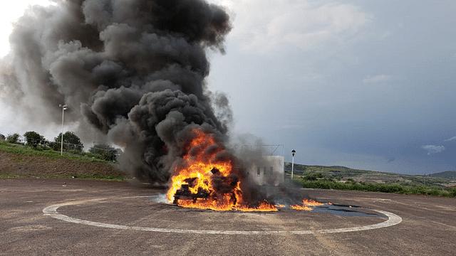 Incineran más de 600 kilos de drogas en Morelia