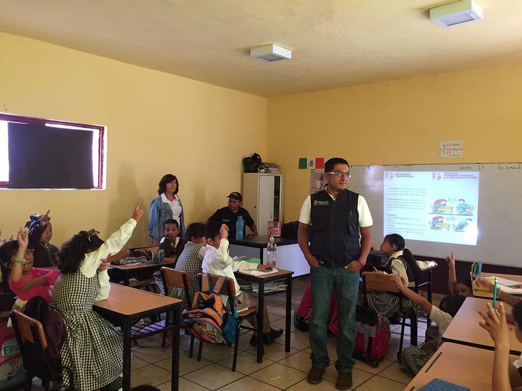 Refuerza SSP valores en estudiantes de Zitácuaro