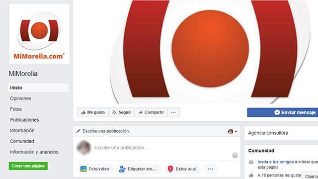 Usan Fan Page falso de MiMorelia para difundir 'fake news'