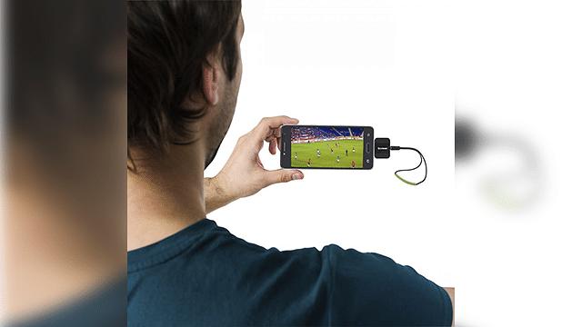 Adquiere estos gadgets y mira el Mundial desde tu celular sin necesidad de Internet