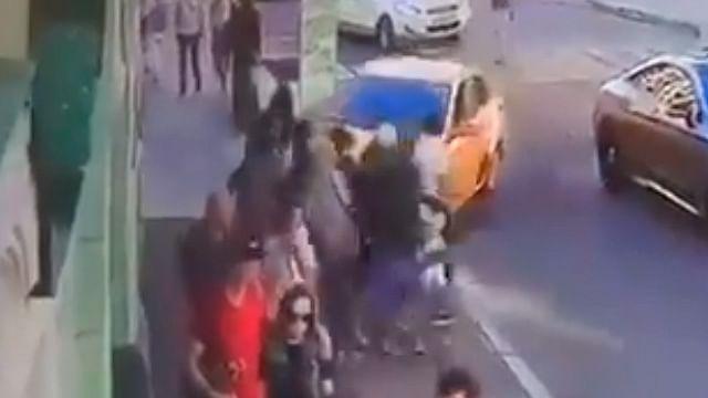 Estas son las impactantes imágenes del atropellamiento de aficionados en Moscú