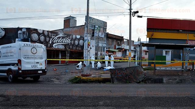 Asesinan de un balazo en la cabeza a hombre en la San Rafael, en Morelia