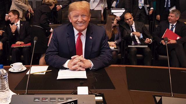 Trump pretende reelegirse como presidente para 2020
