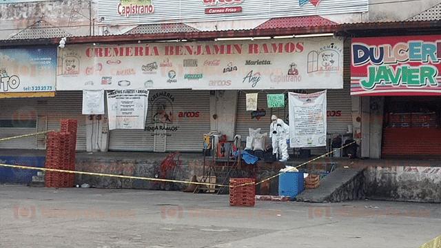 Acribillan a tamalero afuera del Mercado de Abastos en Morelia