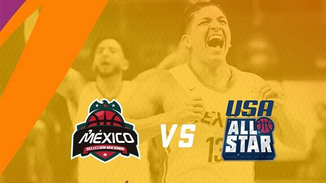 Arranca venta de boletos para amistoso de la Selección Mexicana de Baloncesto vs USA All Star