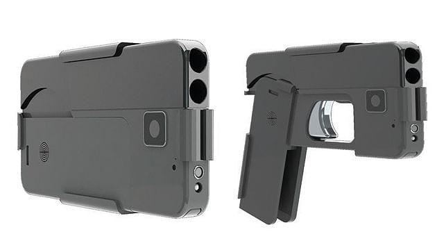 """""""Celulares-pistola"""" llega a manos a sus primeros clientes en EU (video)"""