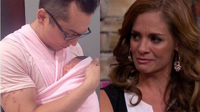 Alma Cero reaccionó así tras el nacimiento de la hija de Edwin Luna