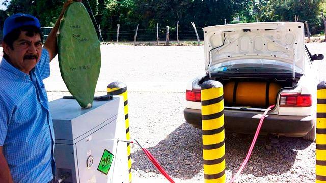 Nopalimex: la única gasolina de nopal en Michoacán ¡a 12 pesos el litro!