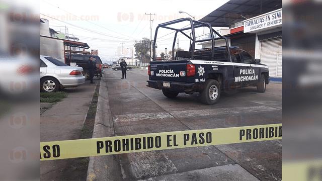 Desconocidos balean a automovilista en Uruapan