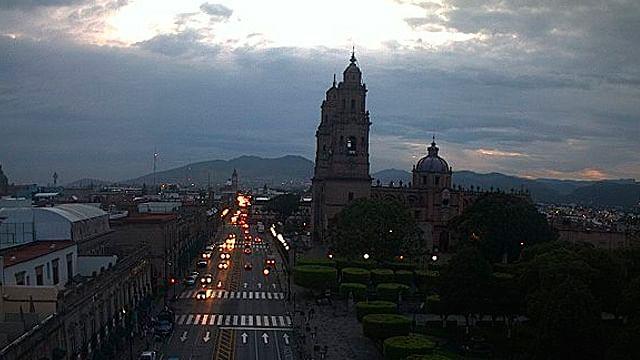 Pronostica SMN cielo parcialmente nublado este viernes en Morelia