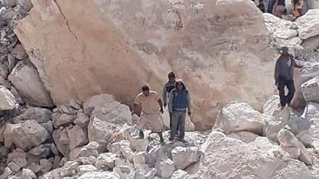 Tras derrumbe en mina, fallecen tres personas en Hidalgo