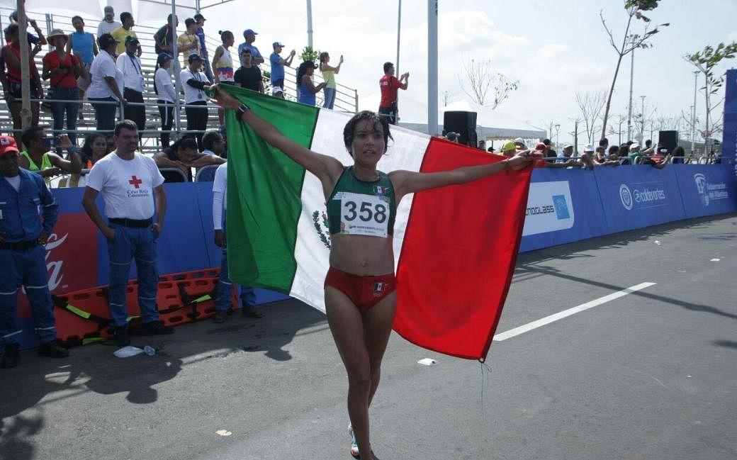 México gana oro y plata en la maratón de Barranquilla