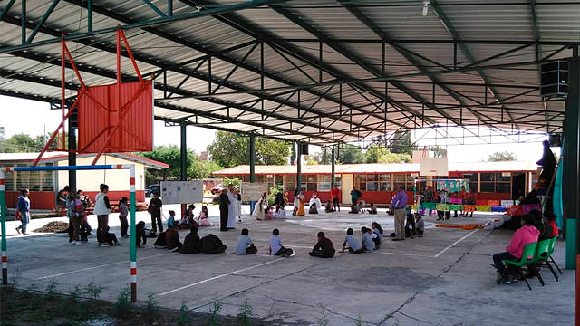 (Foto ilustrativa Facebook: SEP Escuela Primaria Melchor Ocampo Huacao Michoacan)