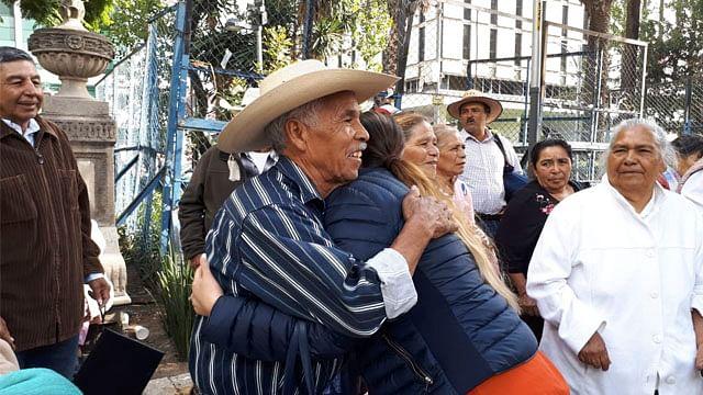 Familiares de migrantes michoacanos celebran entrega de visa