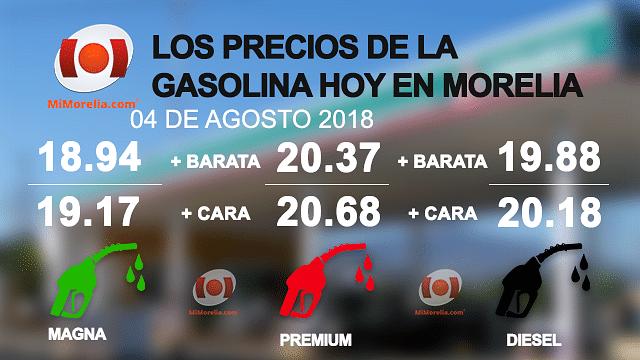 Aquí es dónde podrás encontrar la gasolina más barata hoy en Morelia