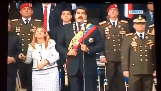 Evacuan a Nicolás Maduro por presunto atentado durante evento oficial
