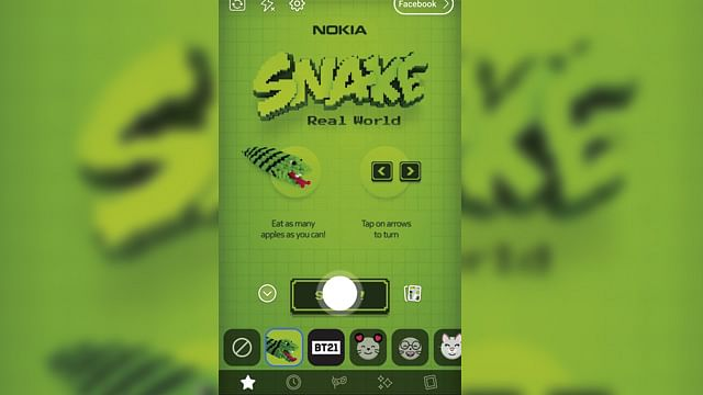 El clásico juego Snake de Nokia volverá, ¡y lo hará en realidad aumentada!