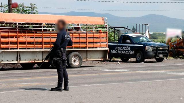 Desplieguan operativo en las regiones Apatzingán, Lázaro Cárdenas y Zamora