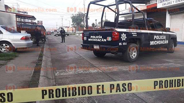 Identifican al asesinado en el fraccionamiento Valle Real de Uruapan
