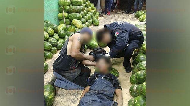 Atacan con pistolas a dos trabajadores del Mercado de Abastos, en Morelia