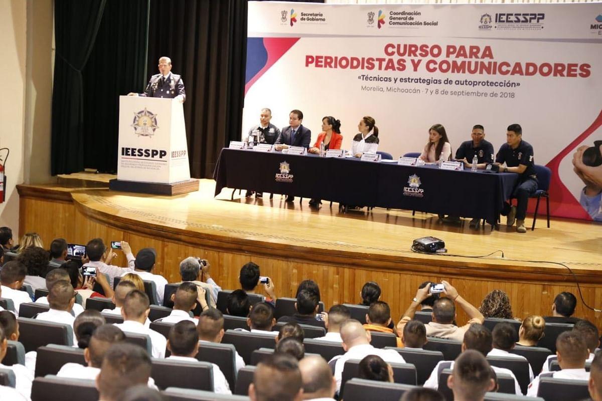 Con 62 participantes, arranca curso de autoprotección para periodistas y comunicadores