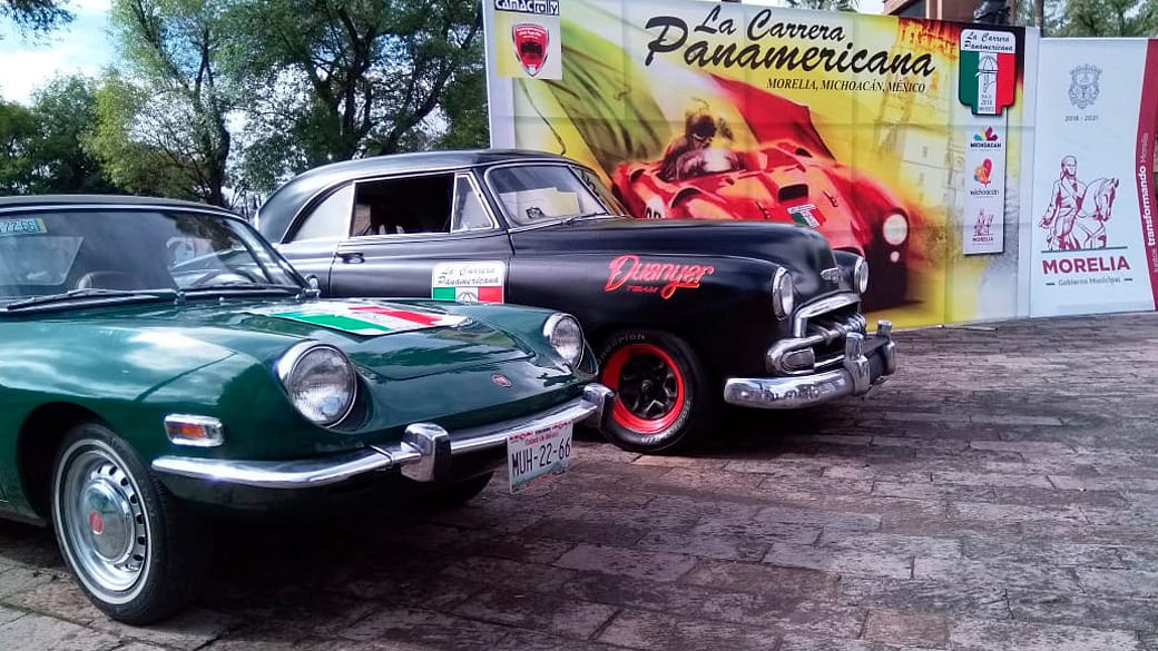 Carrera Panamericana pasará por Michoacán