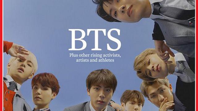 Nueva portada de TIME: Cómo BTS se está apoderando del mundo