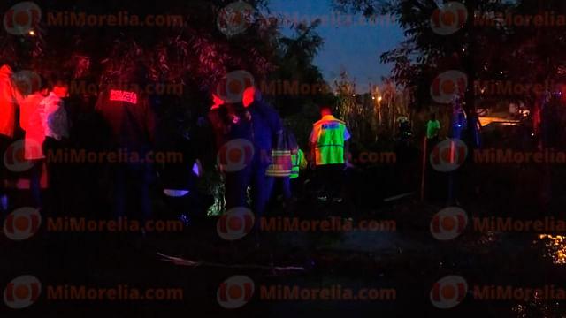Automovilista reyense fallece al caer con su unidad al Río Grande en Morelia