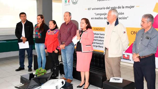 La legalidad no es cuestión de generó: Rocío Pineda
